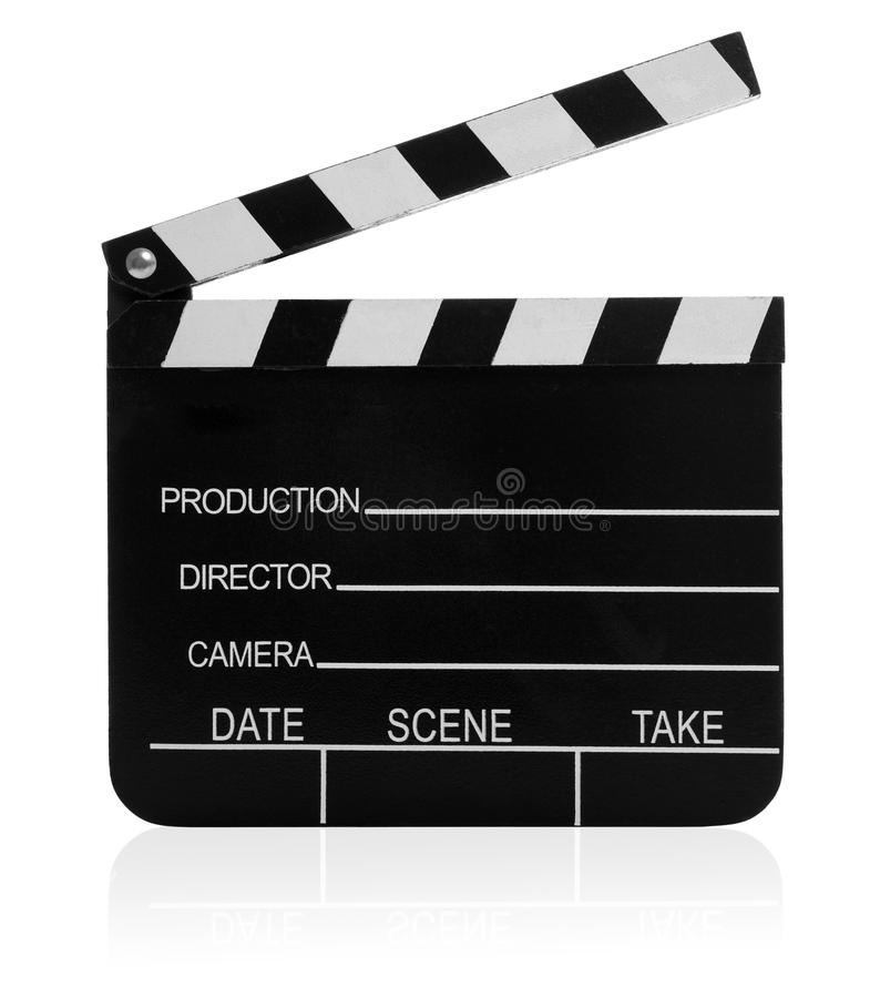 Ícone da ardósia da película fotos de stock