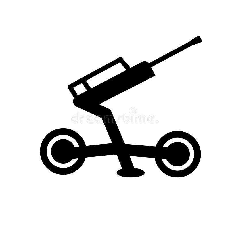 ícone da artilharia  ilustração stock