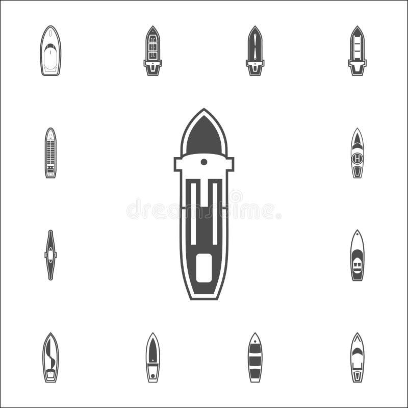 ícone da balsa do mar Grupo detalhado de ícones dos navios Sinal superior do projeto gráfico da qualidade Um dos ícones da coleçã ilustração stock