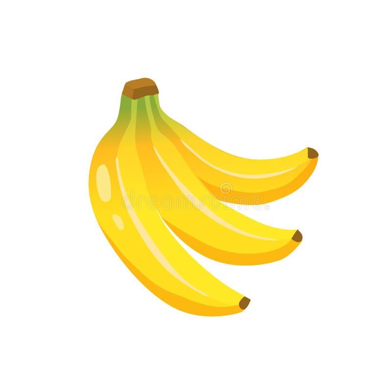 Ícone da banana do vetor ilustração stock