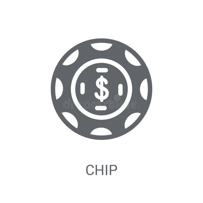 Ícone da Blue Chip  ilustração stock