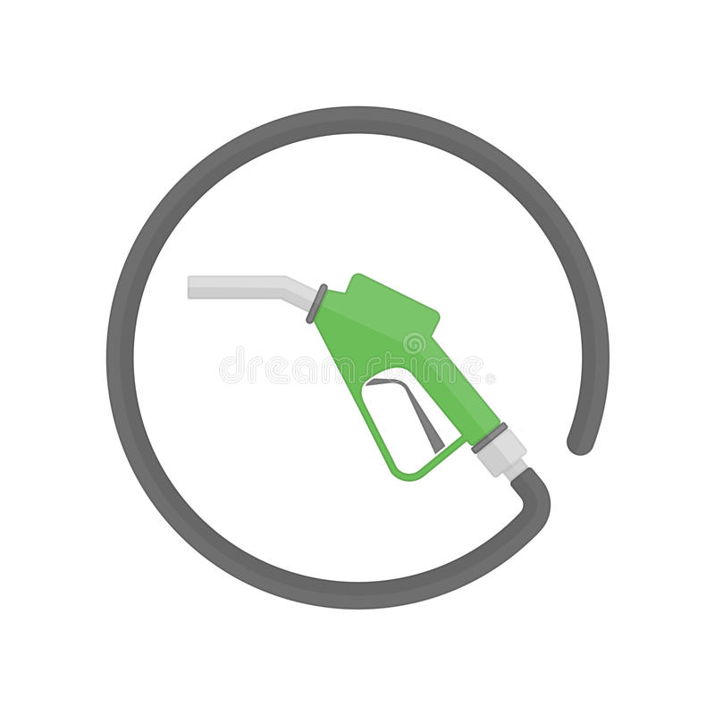 Ícone da bomba de combustível ilustração royalty free