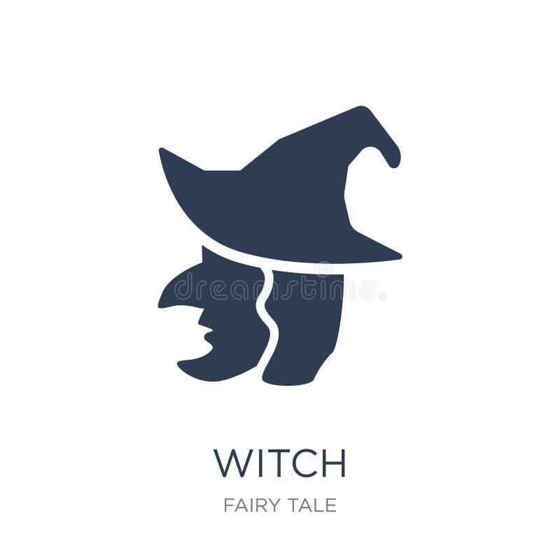 ícone da bruxa  ilustração stock
