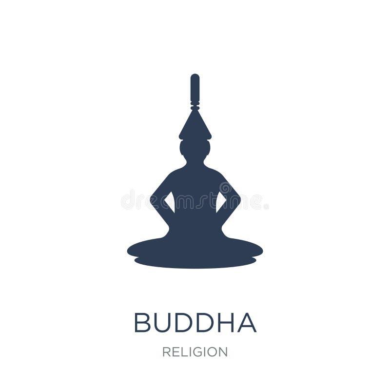 Ícone da Buda  ilustração do vetor