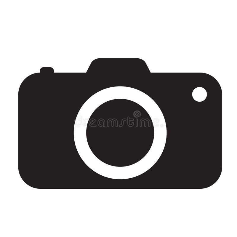 Ícone da câmera da foto ilustração stock