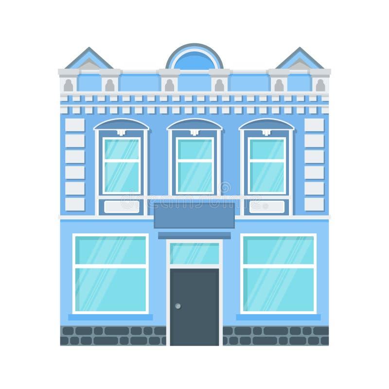 Ícone da casa da cidade ilustração royalty free