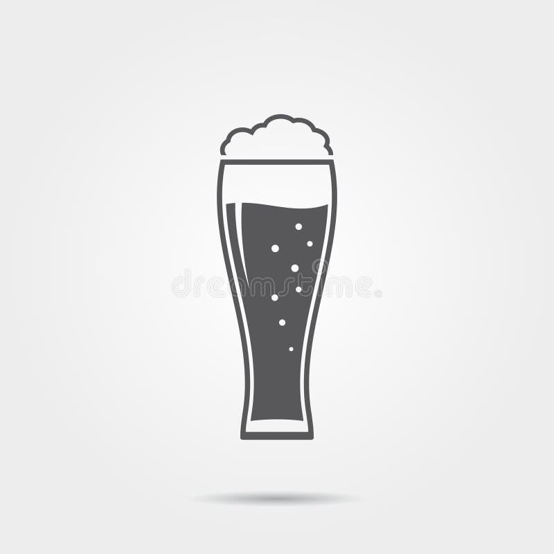 Ícone da cerveja ilustração royalty free