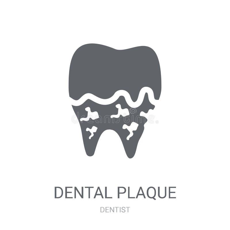 Ícone da chapa dental  ilustração stock