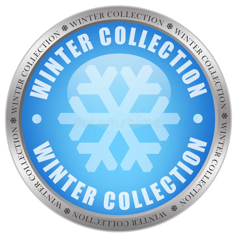 Ícone da coleção do inverno ilustração do vetor