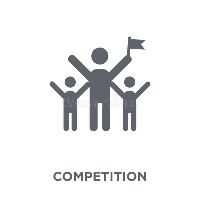 Ícone da competição da coleção da produtividade ilustração royalty free
