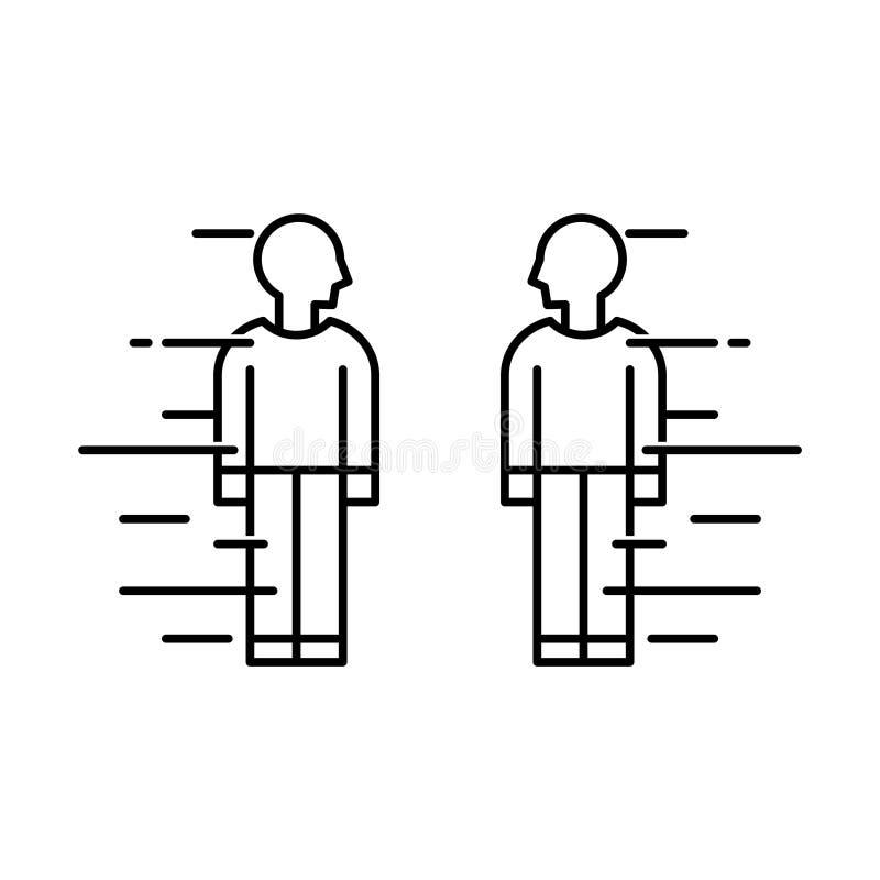 Ícone da competição, ilustração do vetor ilustração royalty free