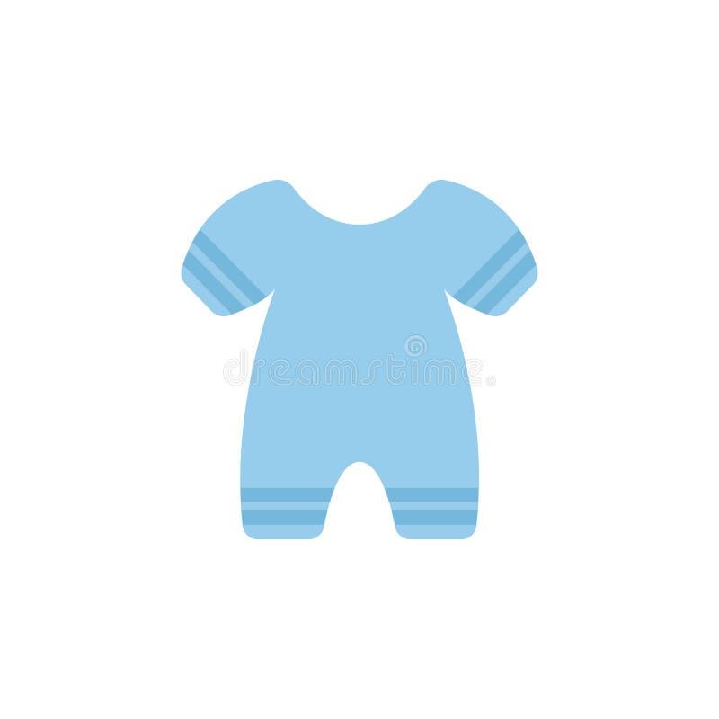 Ícone da cor de Pijama Elemento do ícone da roupa da cor para apps móveis do conceito e da Web O ícone detalhado de Pijama pode s ilustração stock