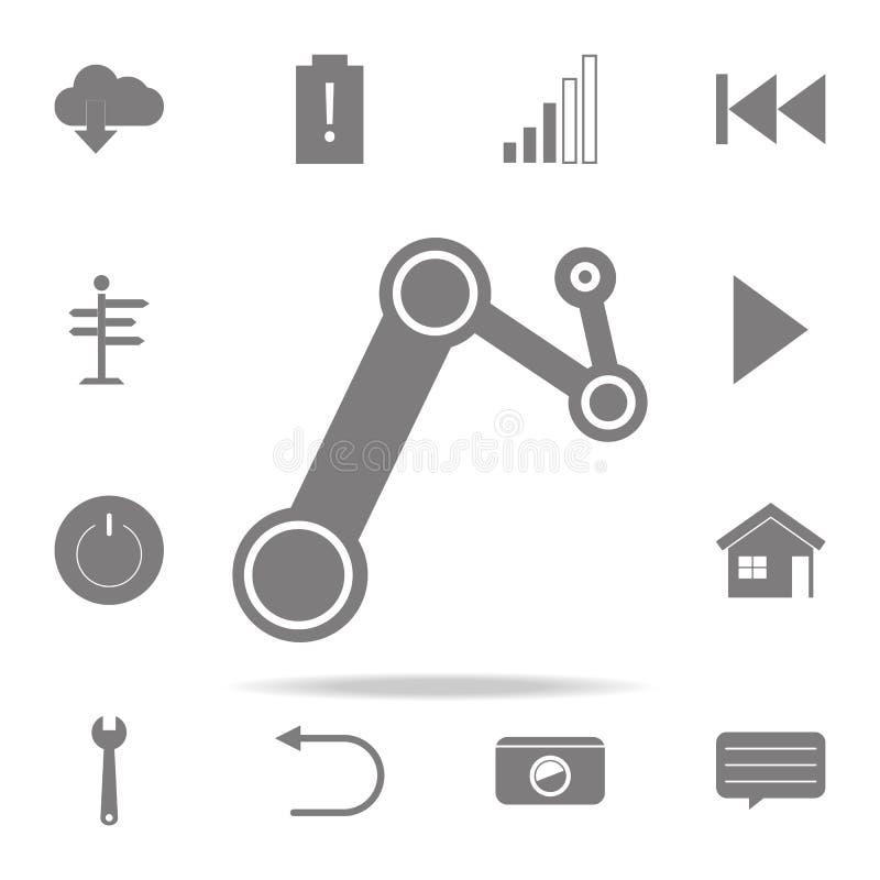ícone da engrenagem do vapor grupo universal dos ícones da Web para a Web e o móbil ilustração do vetor