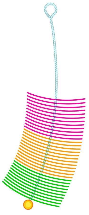 Ícone da escova de cerda ilustração do vetor
