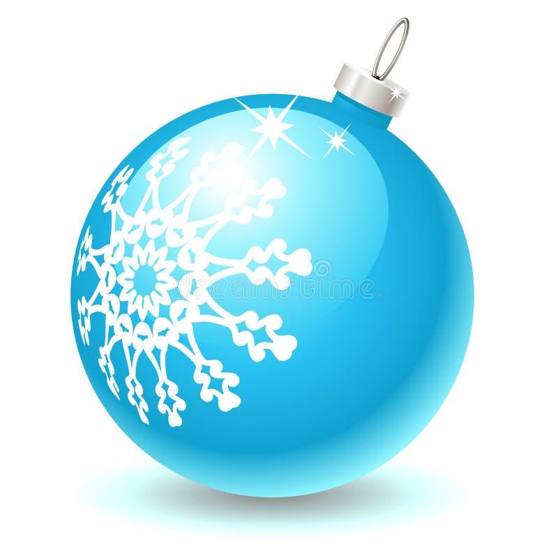 Ícone da esfera do Natal ilustração royalty free