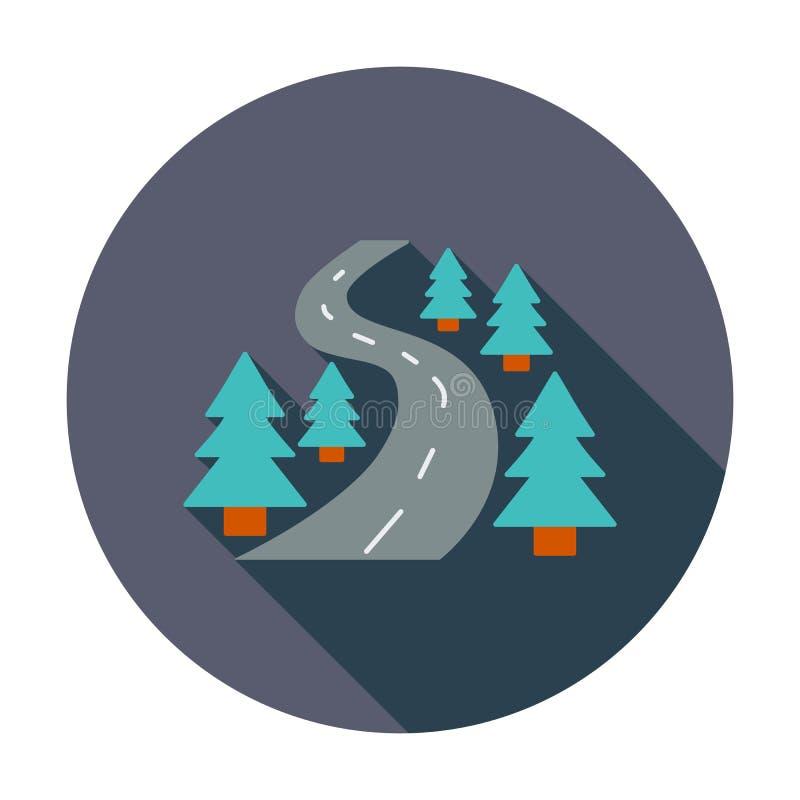 Ícone da estrada ilustração do vetor