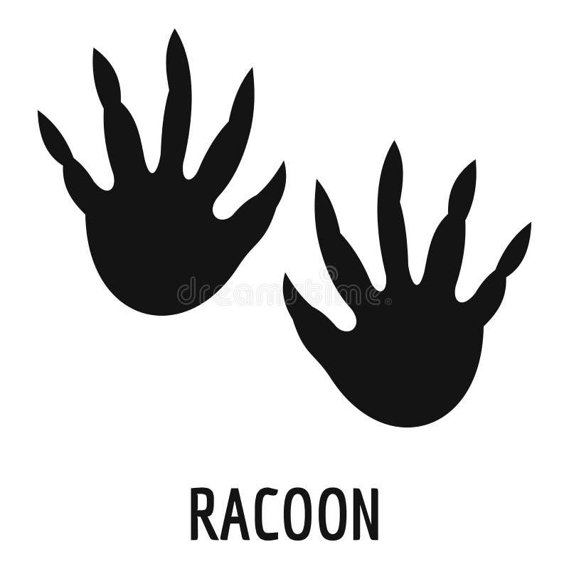 Ícone da etapa do racum, estilo simples ilustração royalty free