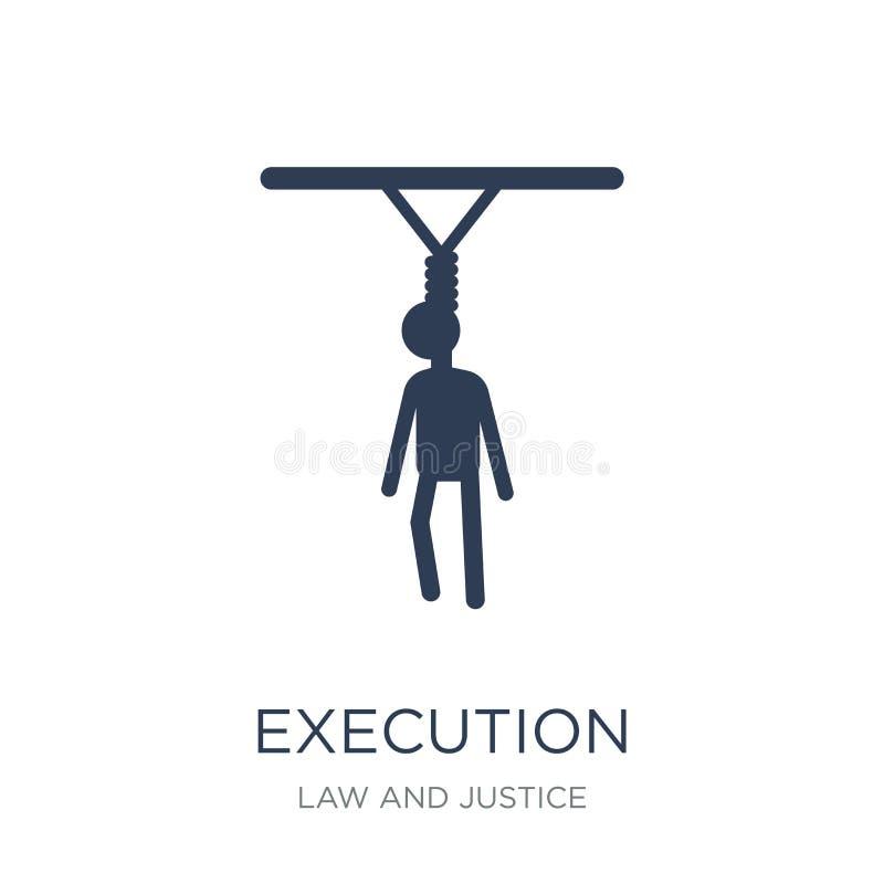 ícone da execução  ilustração royalty free