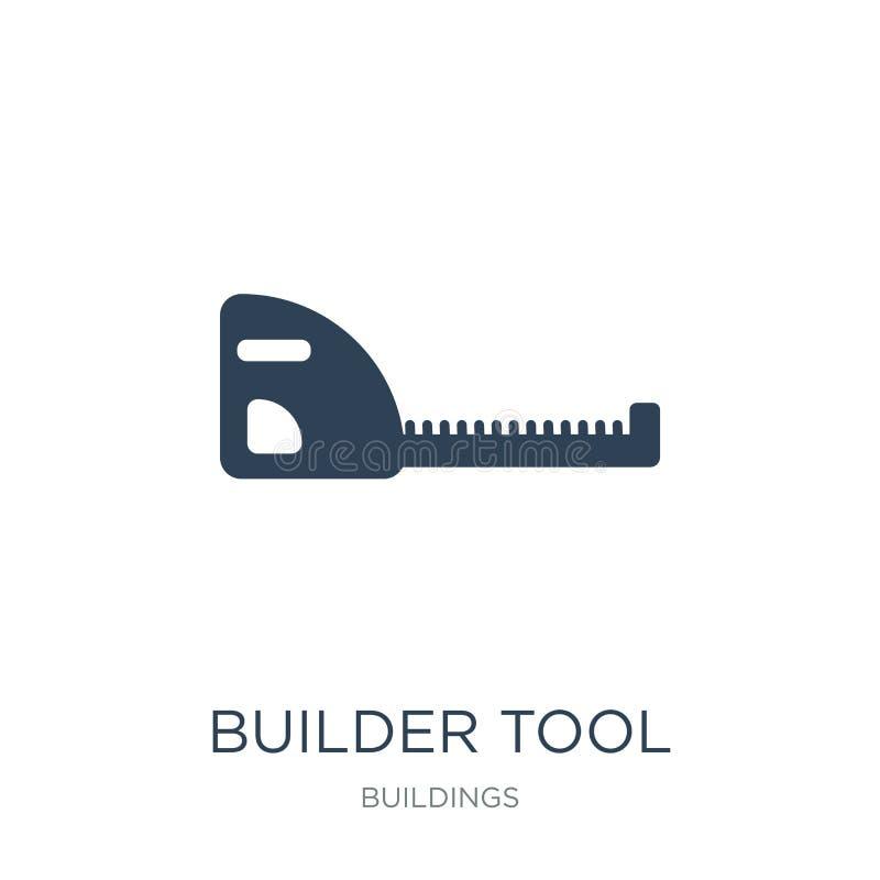 ícone da ferramenta do construtor no estilo na moda do projeto ícone da ferramenta do construtor isolado no fundo branco ícone do ilustração do vetor