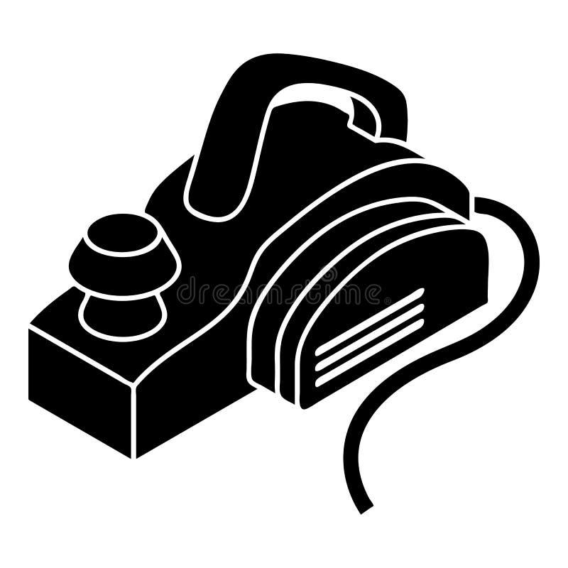 Ícone da ferramenta elétrica da mão, estilo simples ilustração do vetor