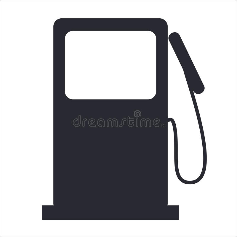 Ícone da gasolina ilustração stock