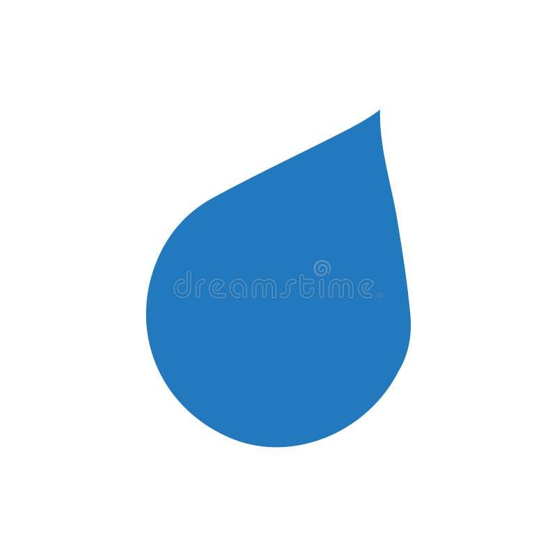 Ícone da gota da água ilustração stock