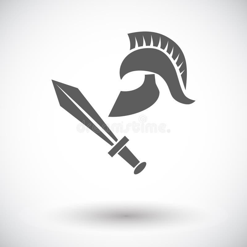 Ícone da história ilustração royalty free