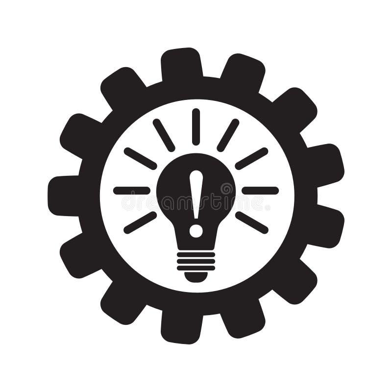 Ícone da inovação do vetor ilustração stock