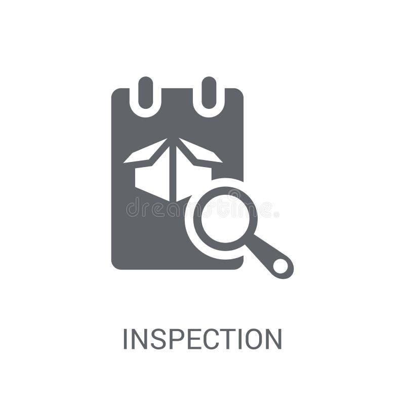 Ícone da inspeção  ilustração stock
