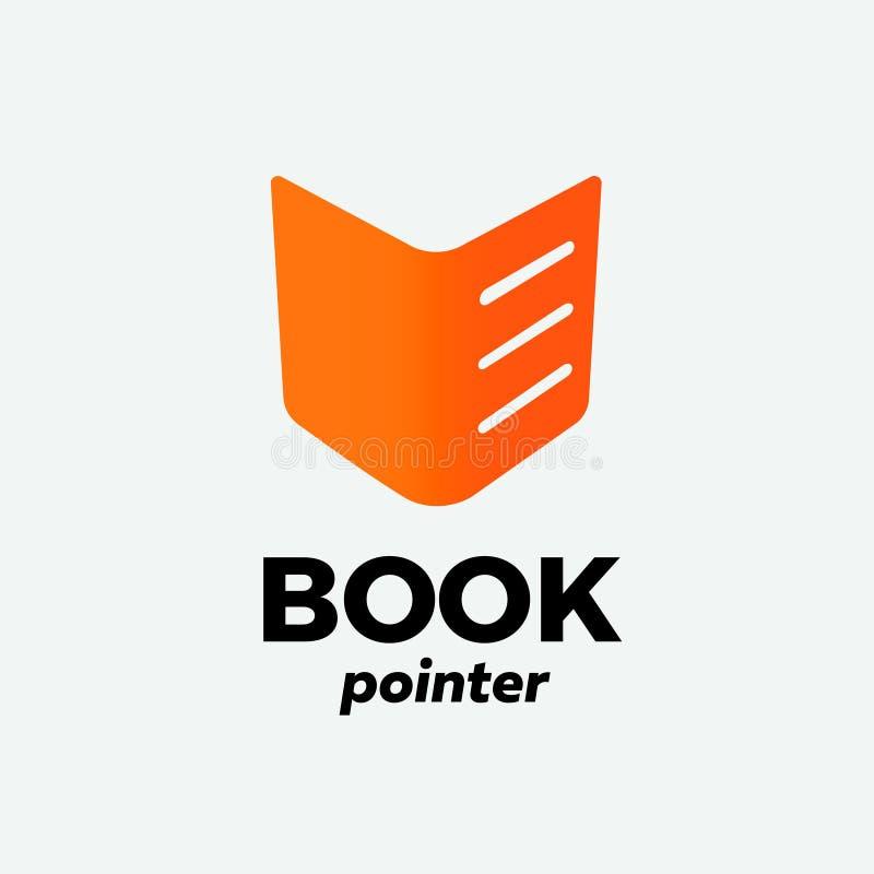 Ícone da laranja do livro ilustração do vetor