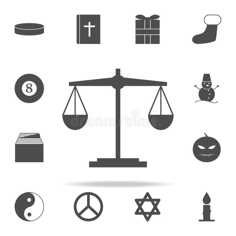 Ícone da Libra grupo universal dos ícones da Web para a Web e o móbil ilustração stock