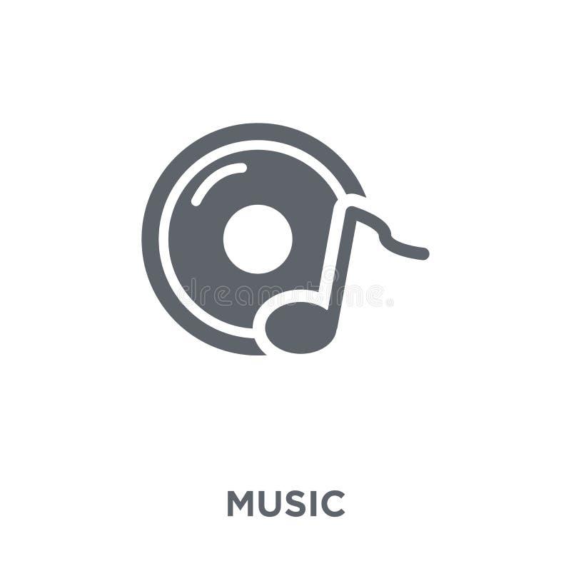 ícone da música da coleção ilustração stock