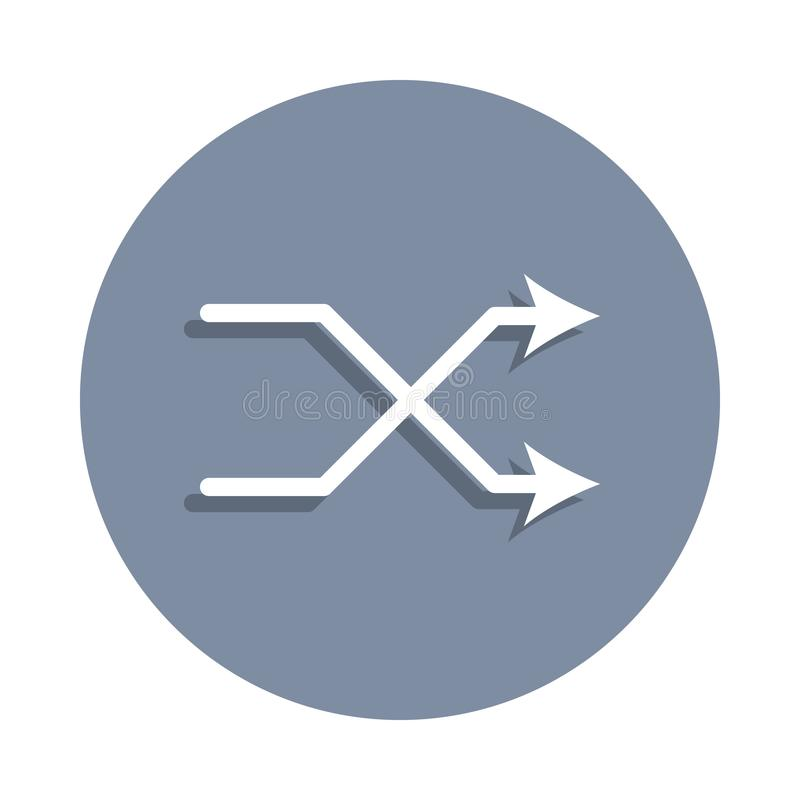 ícone da marca do jogo no estilo do crachá Um do ícone da coleção da Web pode ser usado para UI, UX ilustração do vetor