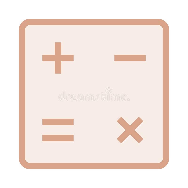 Ícone da matemática ilustração royalty free