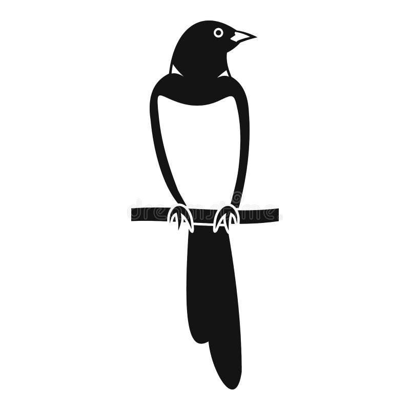 Ícone da pega da estada da árvore, estilo simples ilustração royalty free