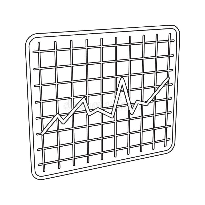 ícone da programação do tráfego Elemento da segurança do cyber para o conceito e o ícone móveis dos apps da Web Linha fina ícone  ilustração royalty free