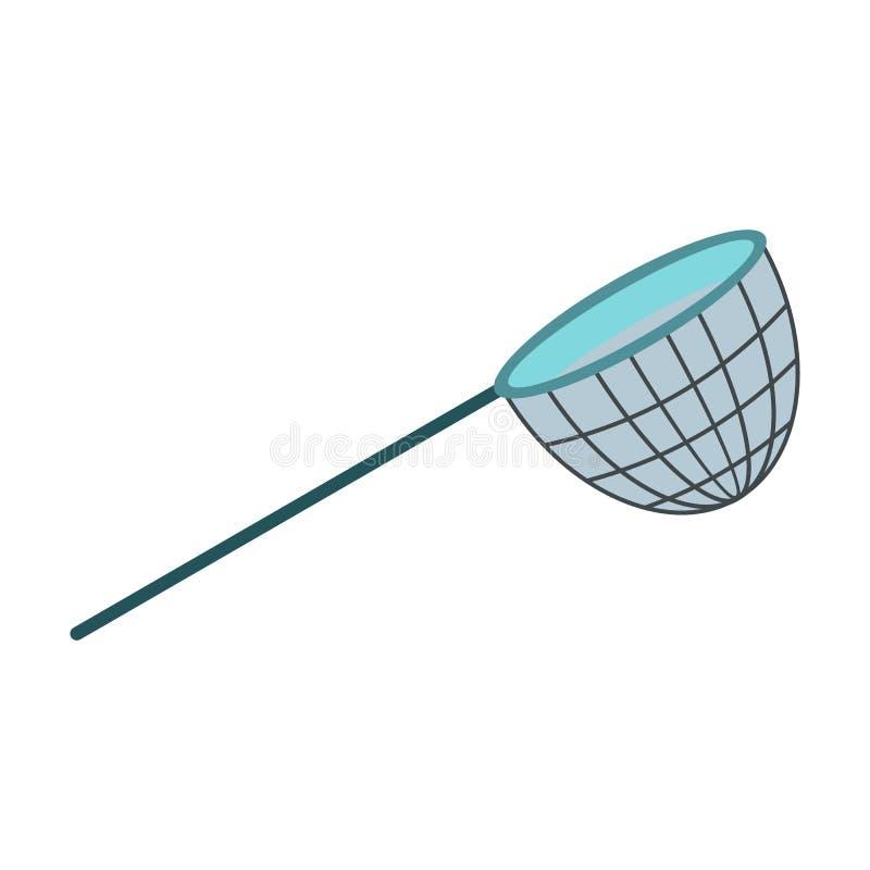Ícone da rede de pesca ilustração royalty free