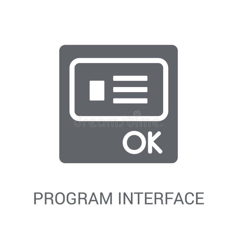 Ícone da relação do programa  ilustração do vetor