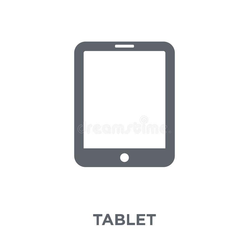 Ícone da tabuleta da coleção dos dispositivos eletrónicos ilustração royalty free