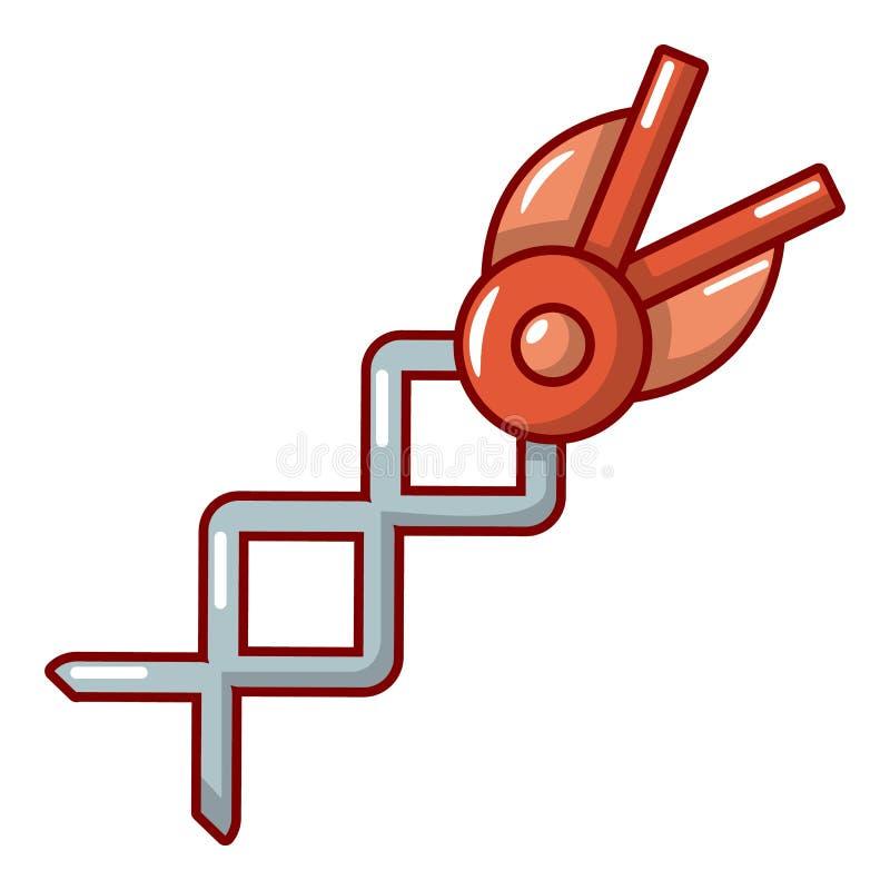 Ícone da tesoura da mola, estilo dos desenhos animados ilustração royalty free