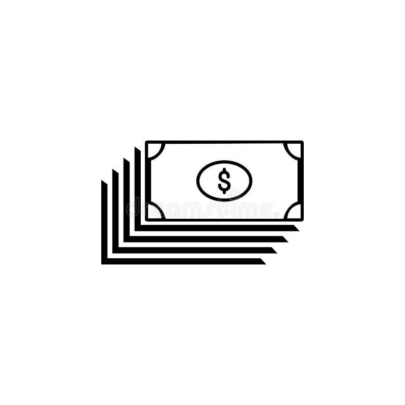 Ícone da troca do dólar euro- Elemento do ícone popular da finança Projeto gráfico da qualidade superior Sinais, ícone da coleção fotos de stock