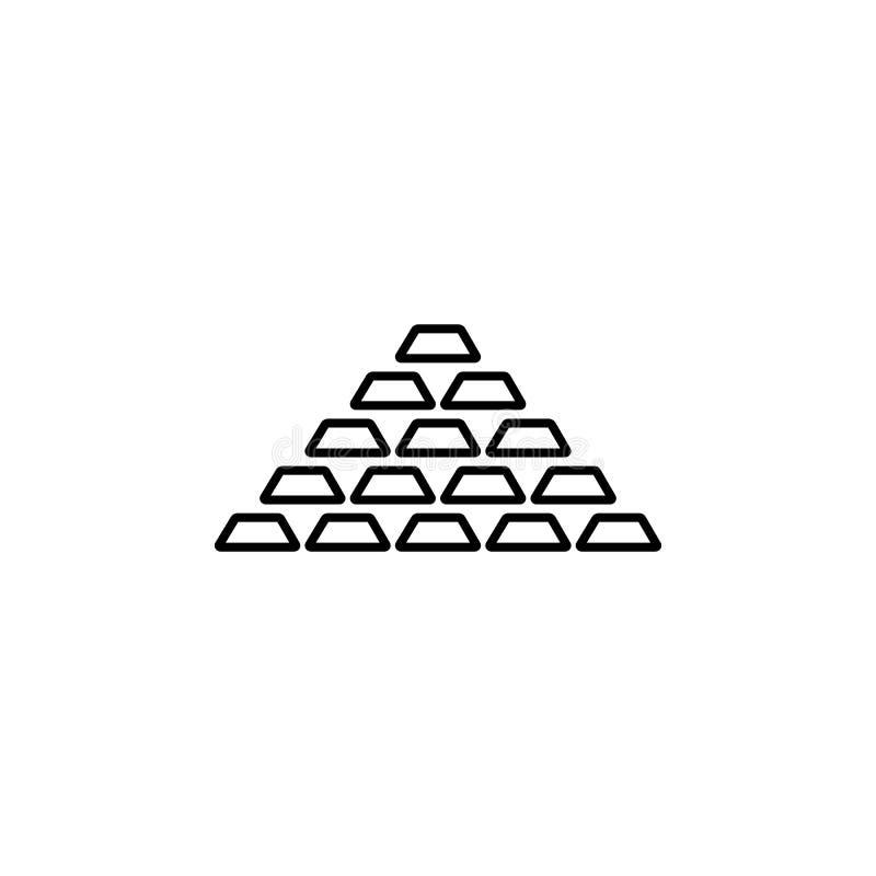 Ícone da troca do dólar euro- Elemento do ícone popular da finança Projeto gráfico da qualidade superior Sinais, ícone da coleção imagens de stock royalty free