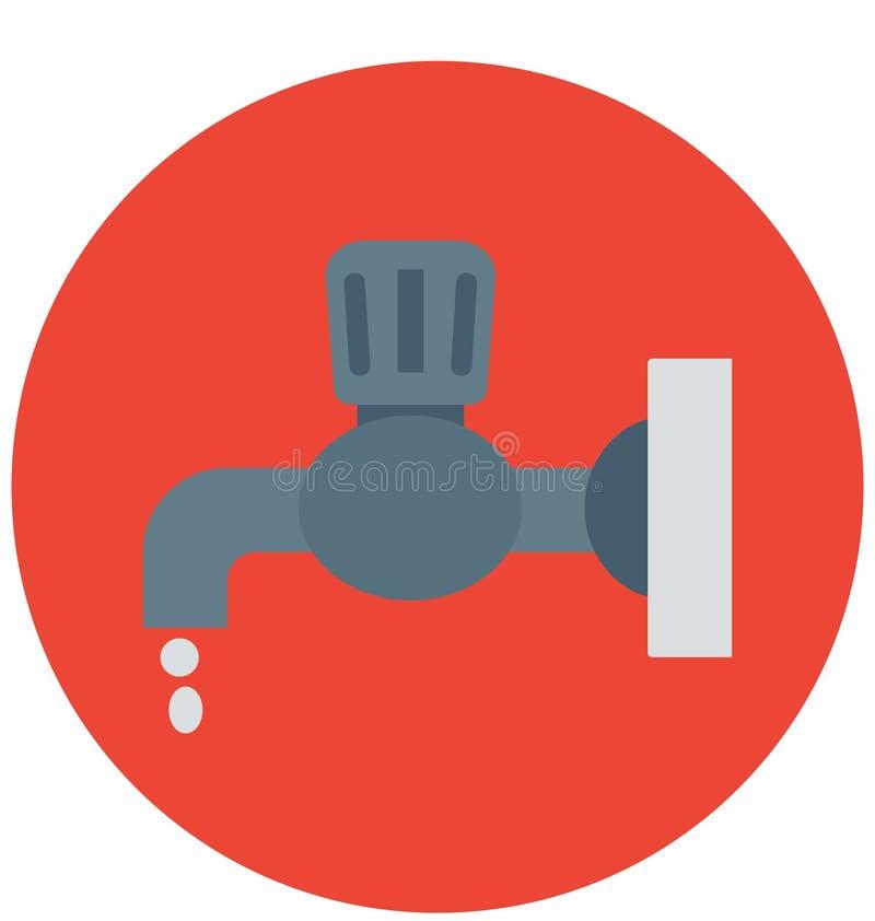 ícone da tubulação para a construção ilustração do vetor