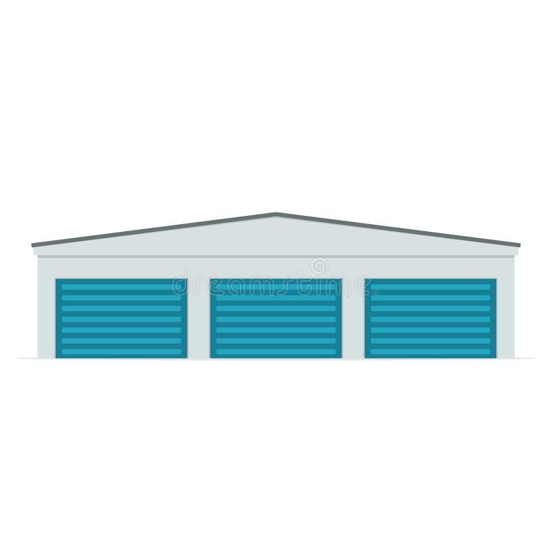 Ícone da unidade de armazenamento do auto ilustração royalty free