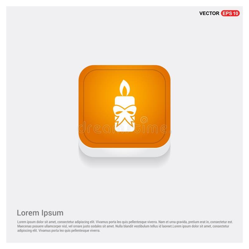 Ícone da vela ilustração do vetor