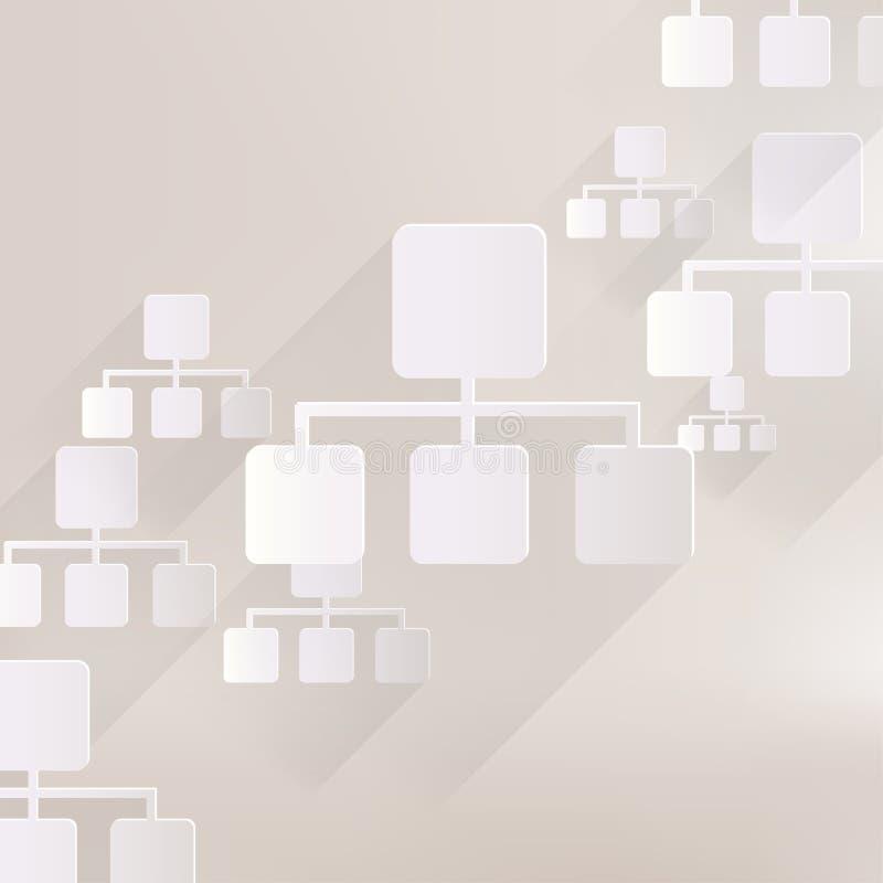 Ícone da Web da rede ilustração royalty free