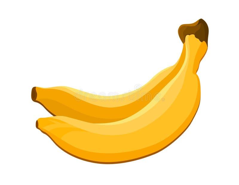 Ícone das bananas ilustração stock