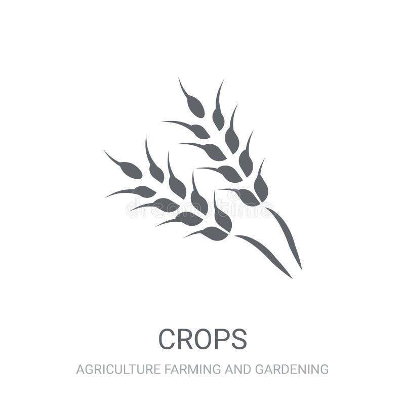 Ícone das colheitas  ilustração do vetor