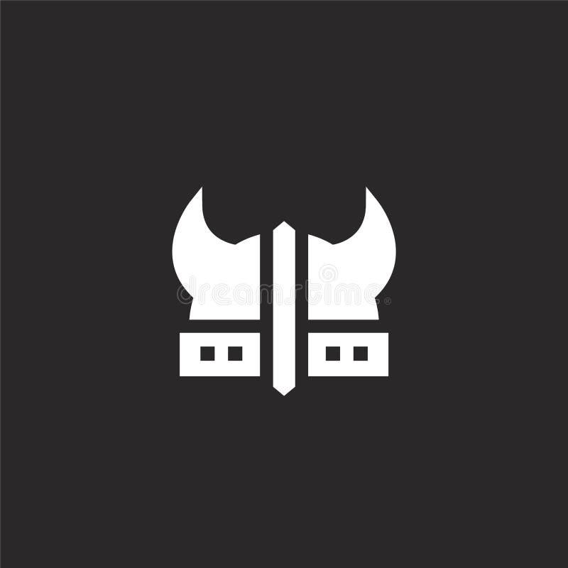 ícone das culturas Ícone enchido das culturas para o projeto do Web site e o móbil, desenvolvimento do app ícone das culturas da  ilustração stock