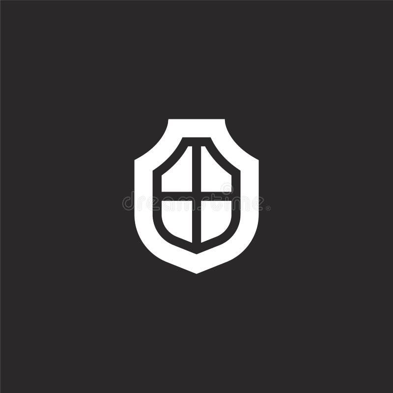 ícone das culturas Ícone enchido das culturas para o projeto do Web site e o móbil, desenvolvimento do app ícone das culturas da  ilustração do vetor